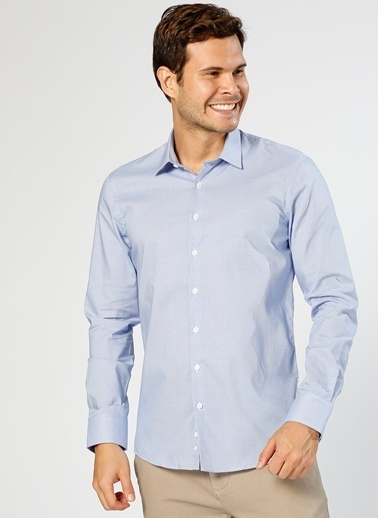 Fabrika Gömlek Mavi